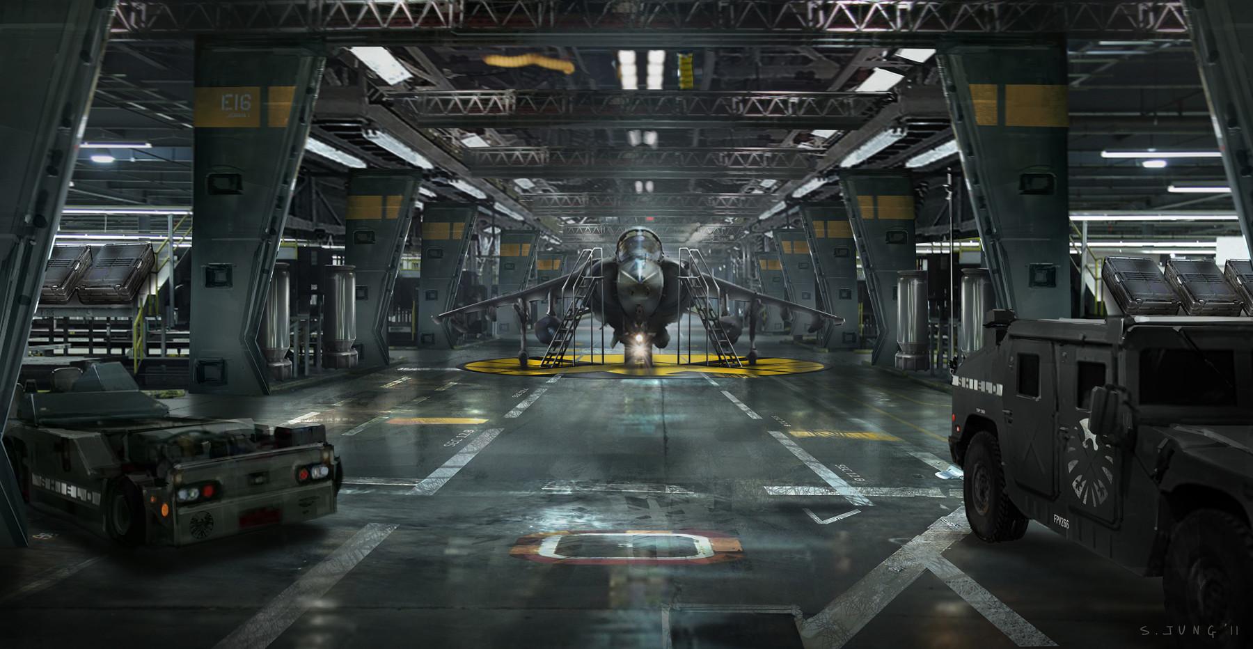 Steve jung new lower hangar update low