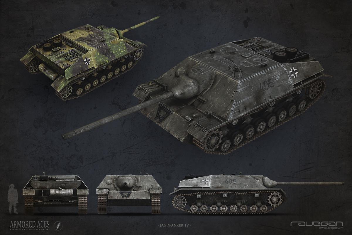 Ravegan games 08 jagdpanzer iv