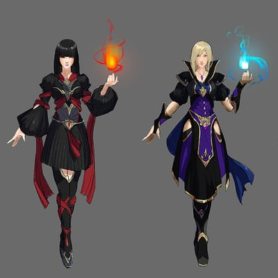 Allen song witch concepts