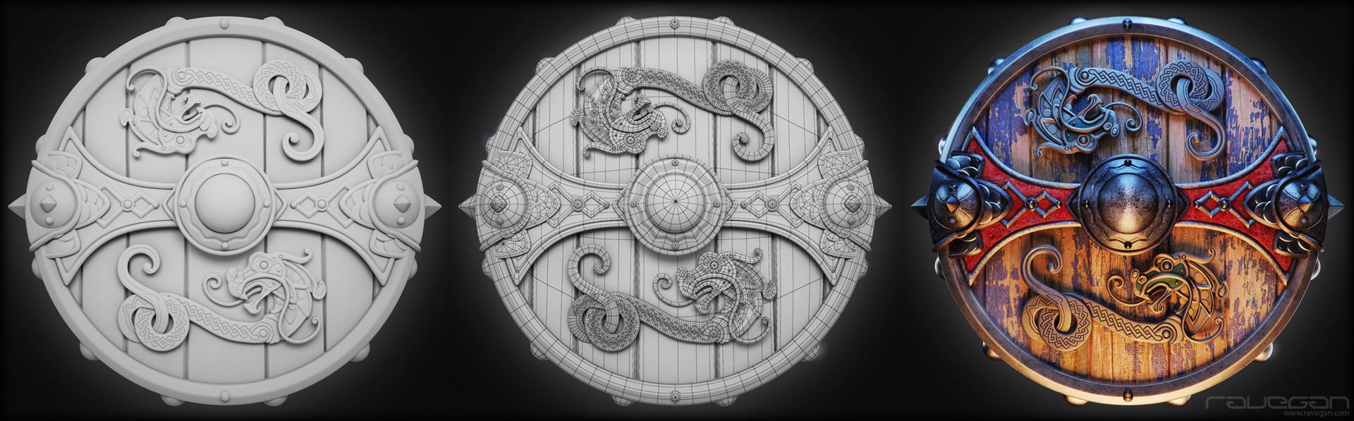 Ravegan games viking 13 shield hd