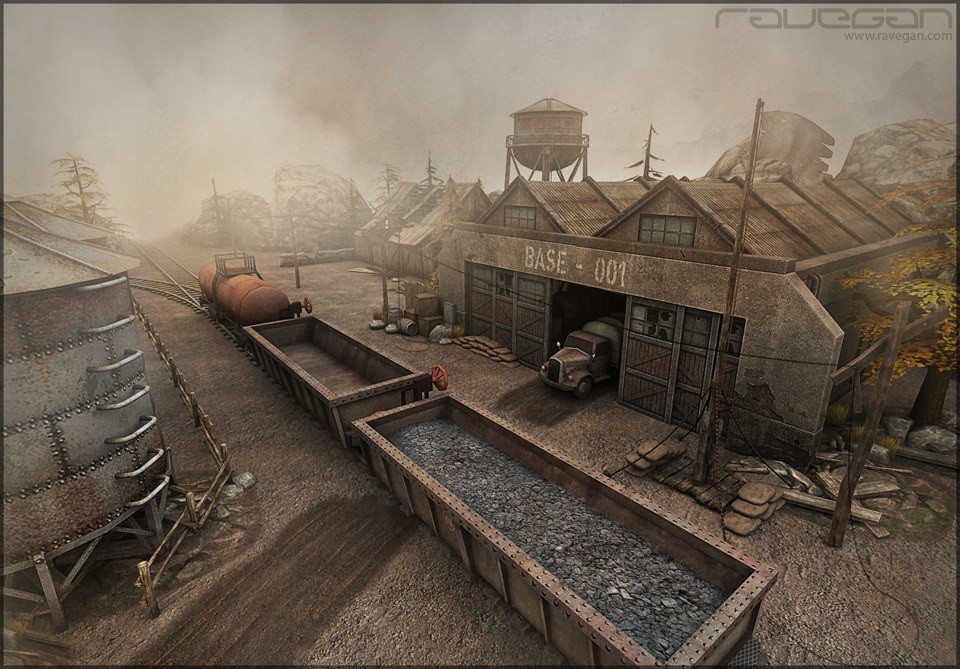Ravegan games scene 03