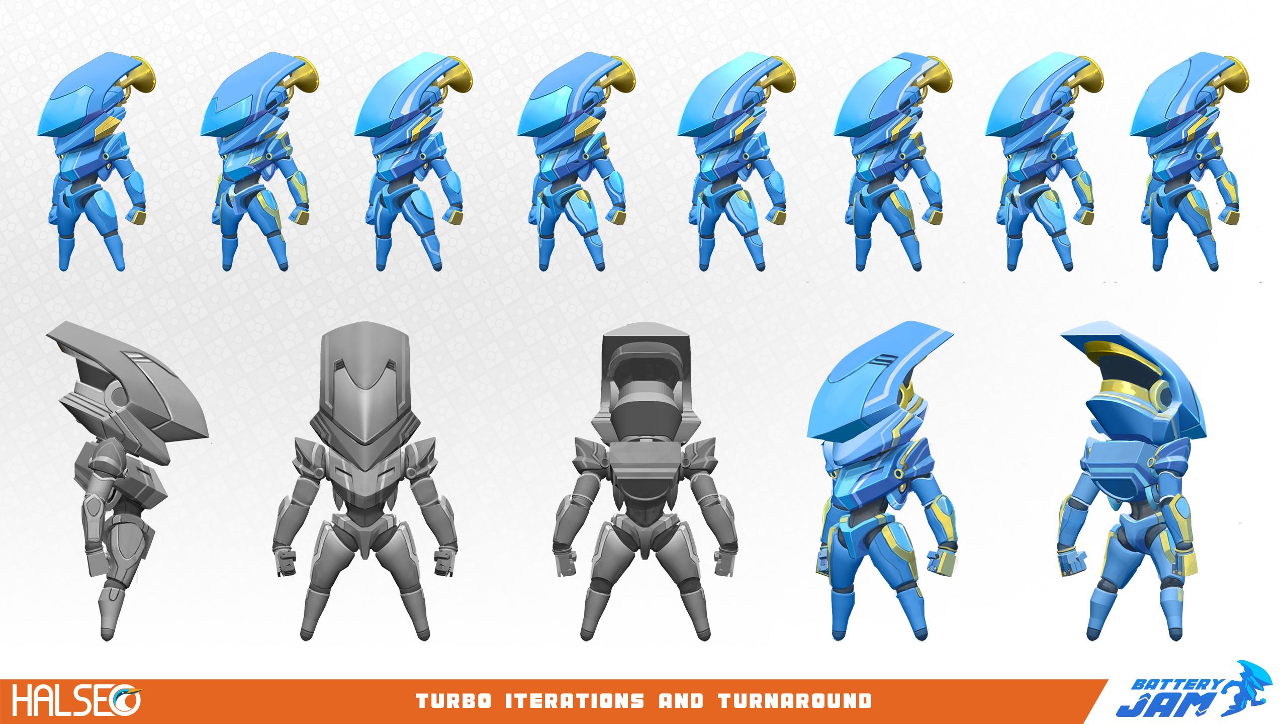 Initial Turbo redesign.