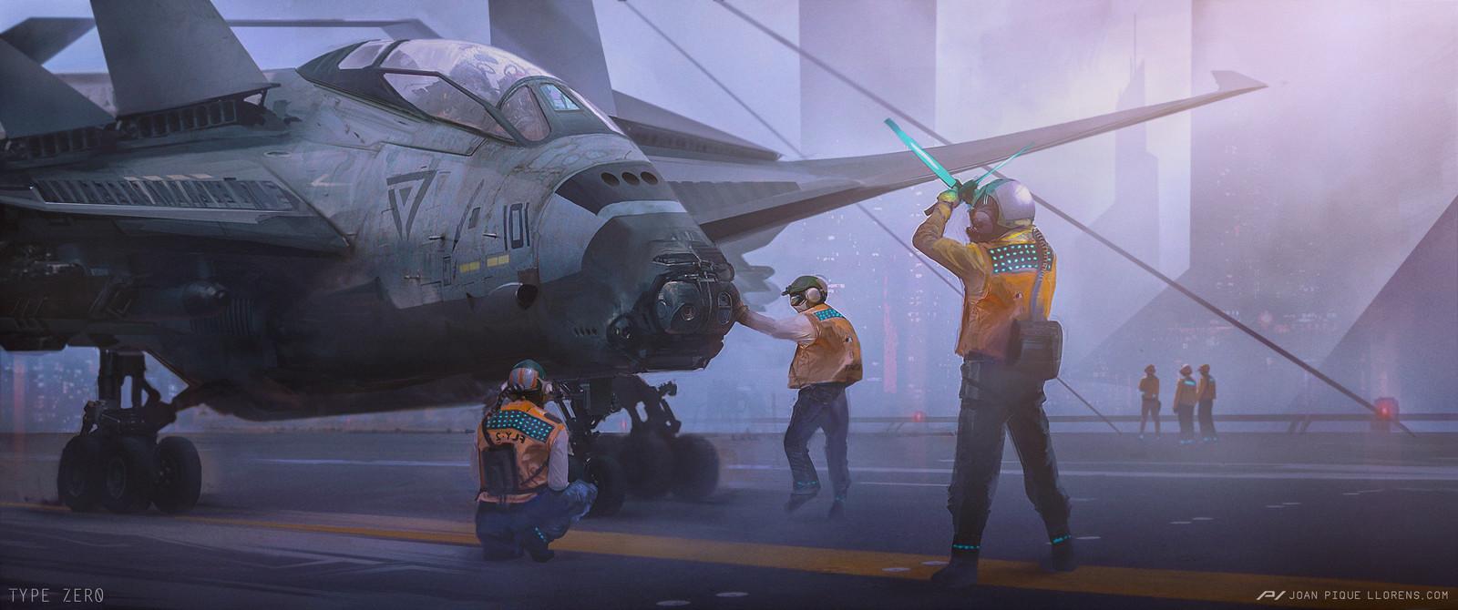 Type Zero - Takeoff