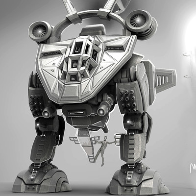 Bradley morgan johnson mecha wip 23rd april frnt
