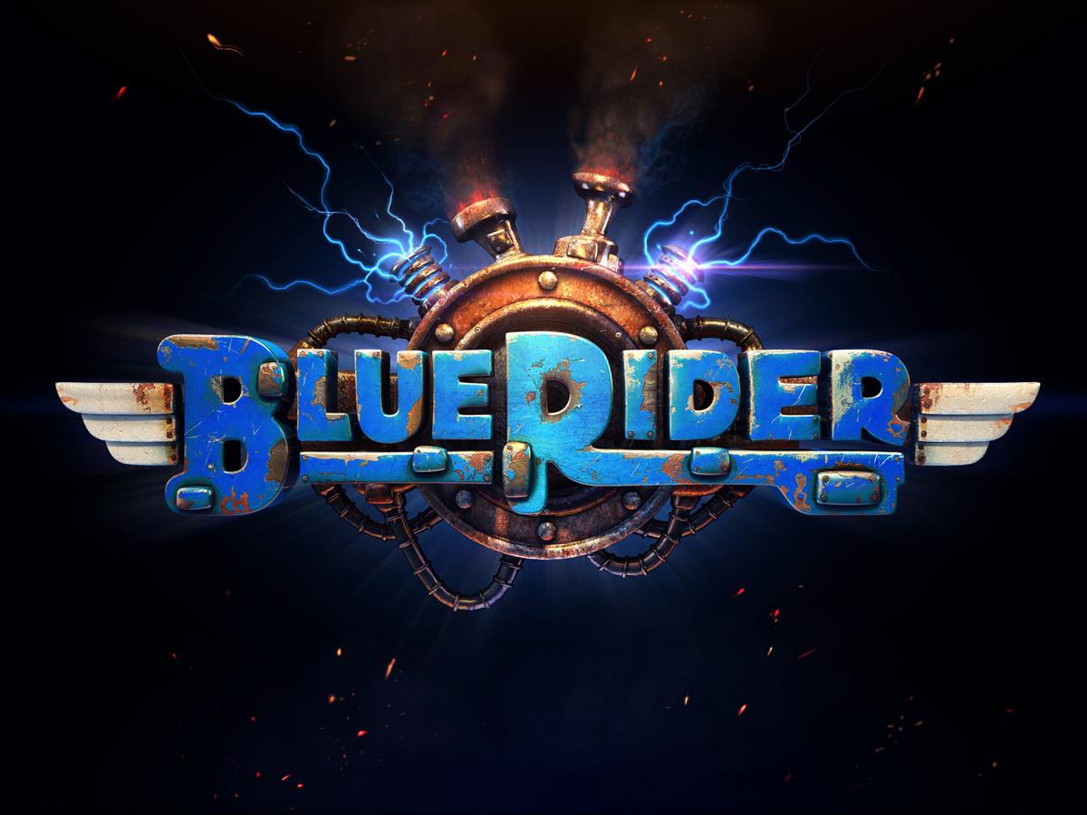 Ravegan games blue rider logo 1200px