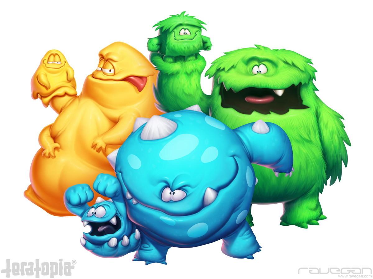 Ravegan games teratopia avatars