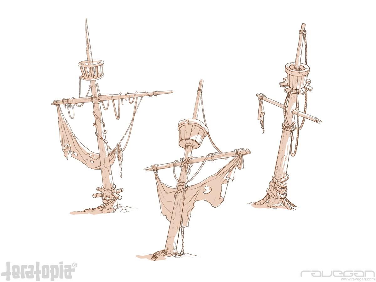 Ravegan games teratopia concept sails