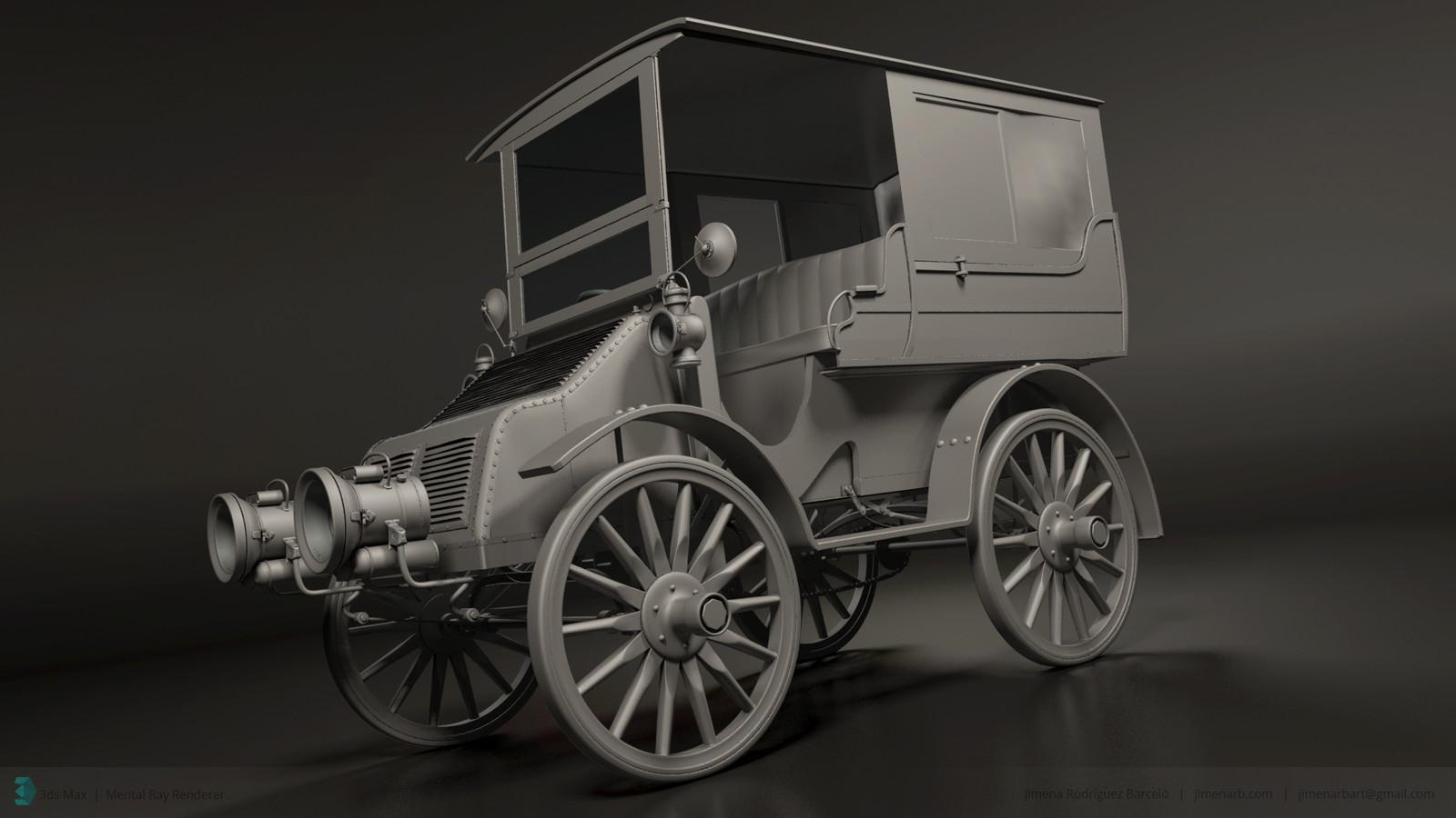 1904 Arrol -Johnston Limousine