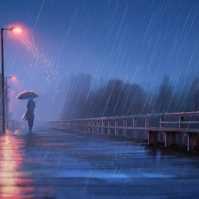 Maia zeidan pluie