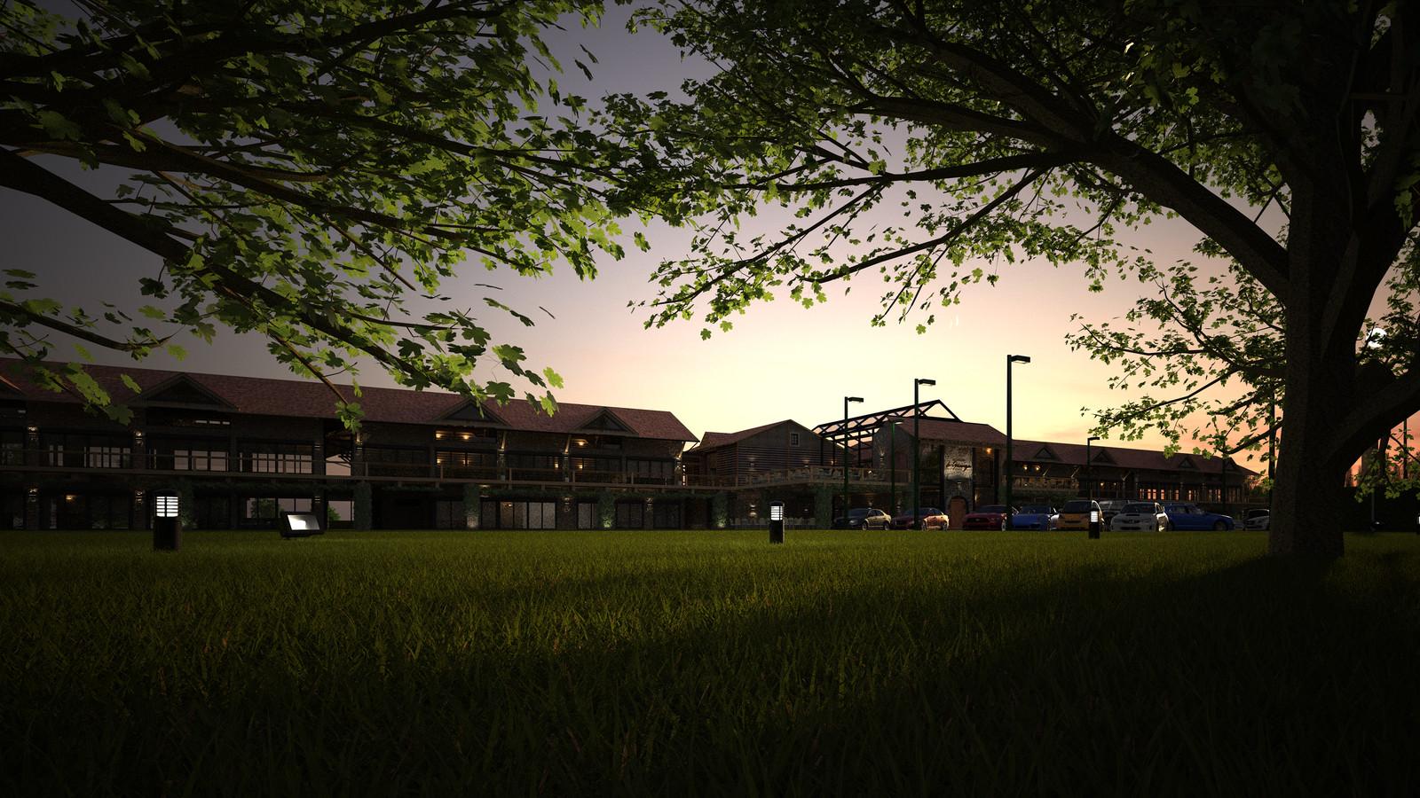 Original model from 2014 La Grange- Rivendell Resort: NE Campestre to Center 02B 02 SU + Thea Render