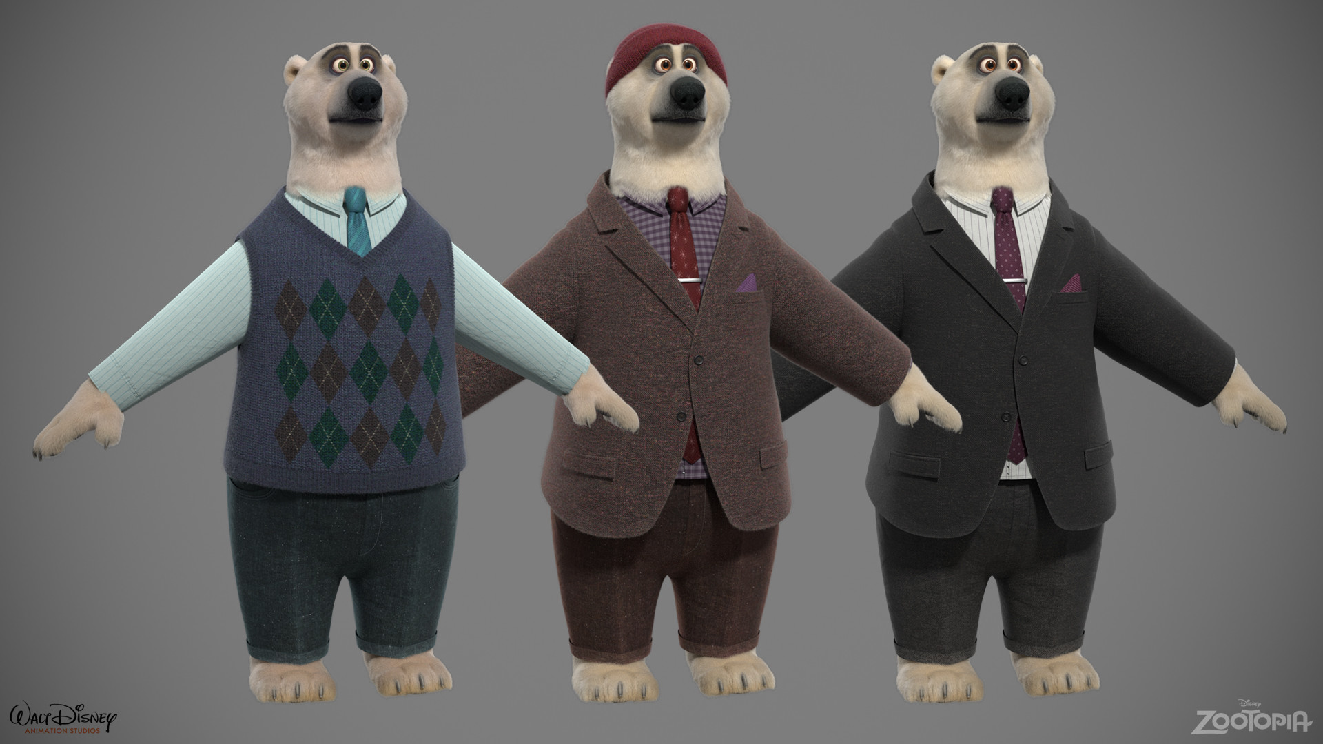 Polar Bears - Male Variants