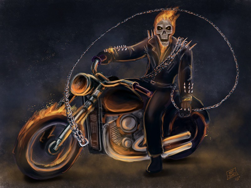 Matt james ghost rider