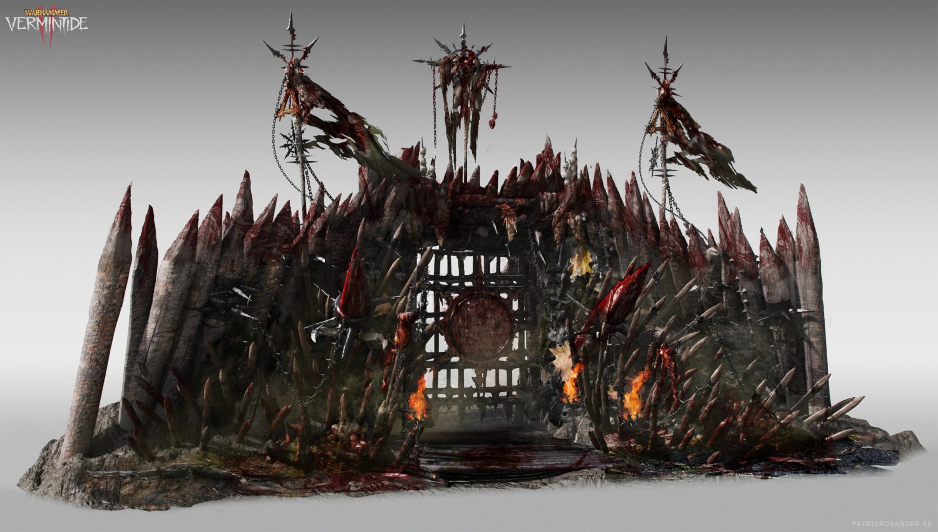 Patrik Rosander Concept Artist Warhammer Vermintide 2