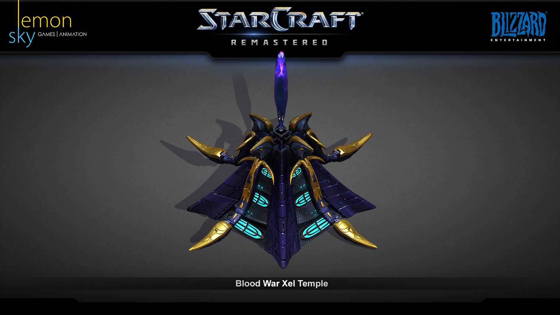 ArtStation - StarCraft Remastered Xel Temple, Makoto Wong Ka Cun