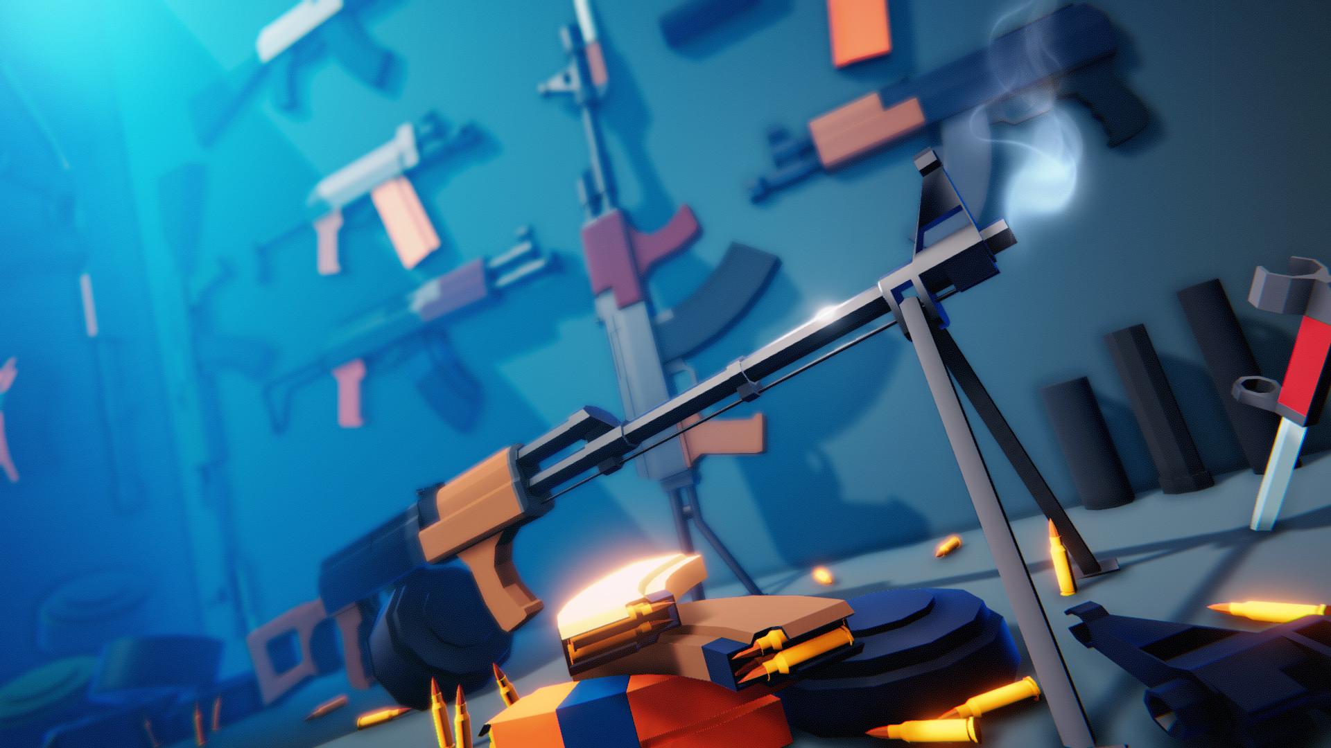ArtStation - Low Poly Russian Guns Pack - AK (Unity Ready), Den