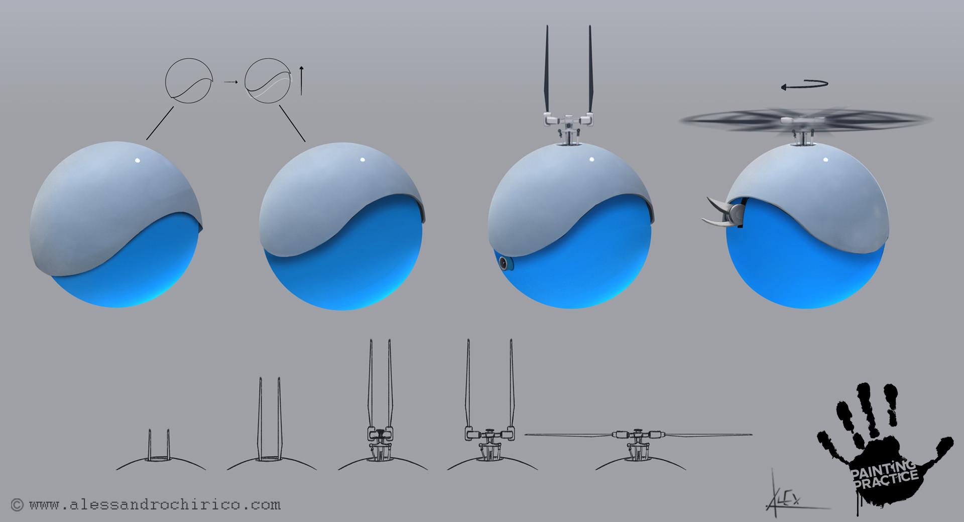 Alessandro chirico 22 sphere drone alessandro chirico