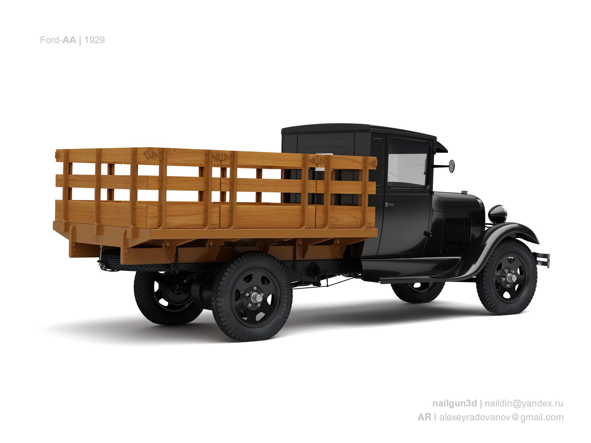 Nail khusnutdinov usa ford aa 1929 1