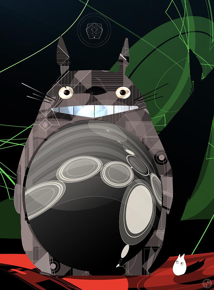 Totoro Fan Art