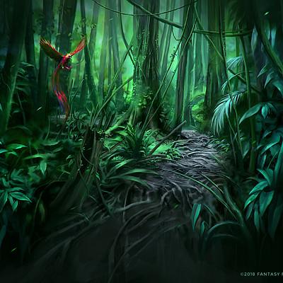Nele diel jungle path