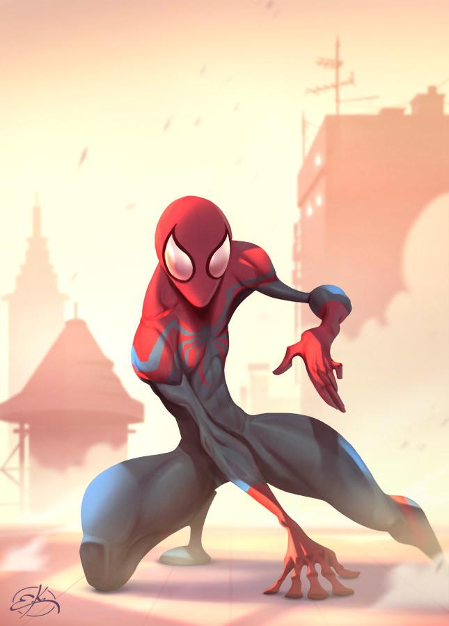 Erkan karagoez spiderman web