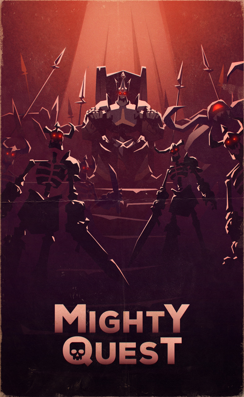 MIGHTY QUEST - Poster