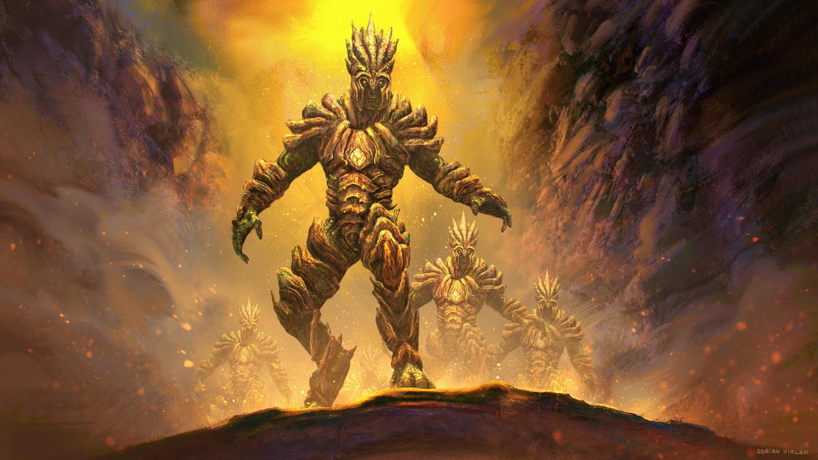 Urien armor character