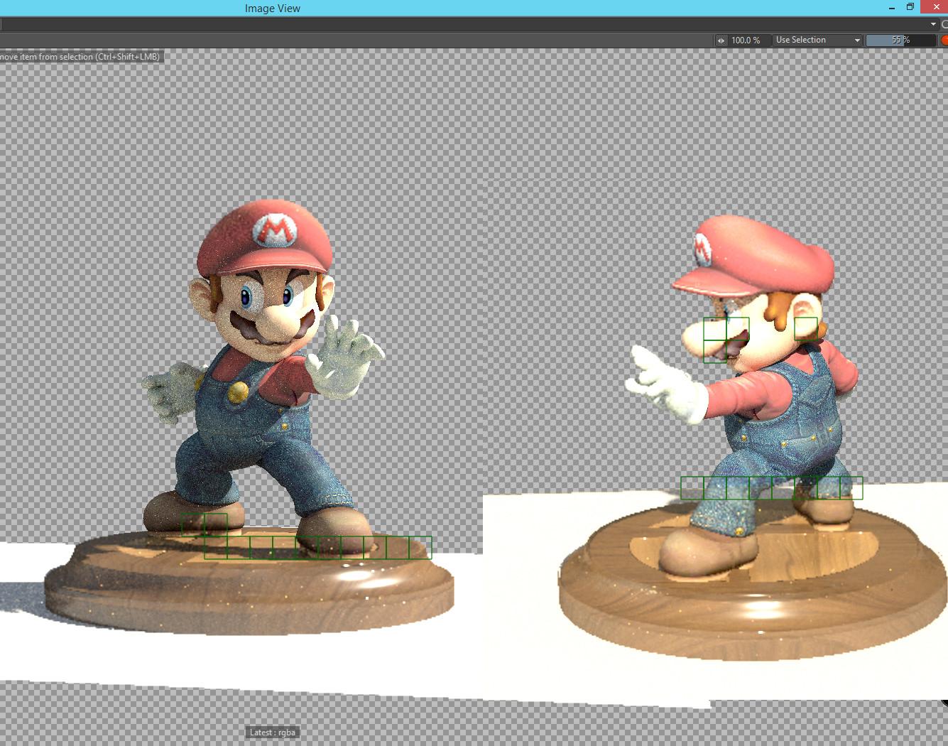 Mario shading