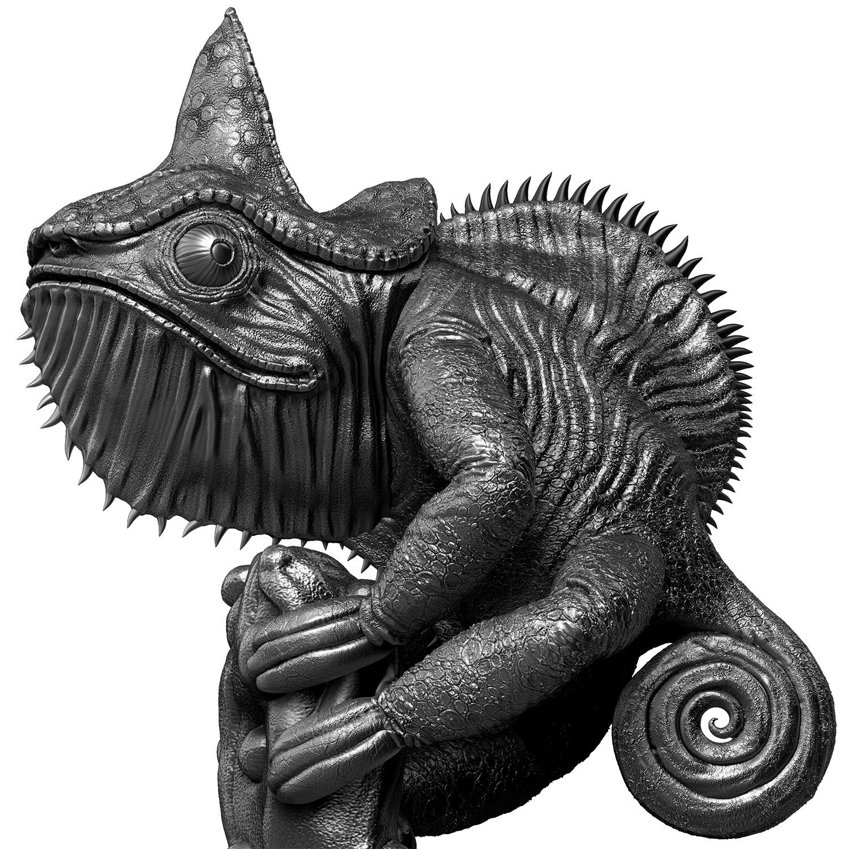 Lizard - Silver