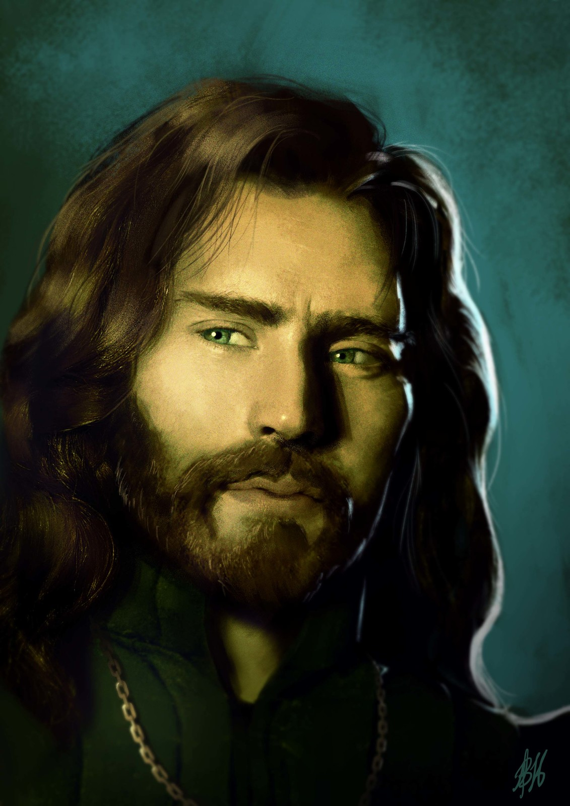 Bartholomew - half-elven cleric of a deity of magic, death and mysteries. Like to hide his elven ancestry.