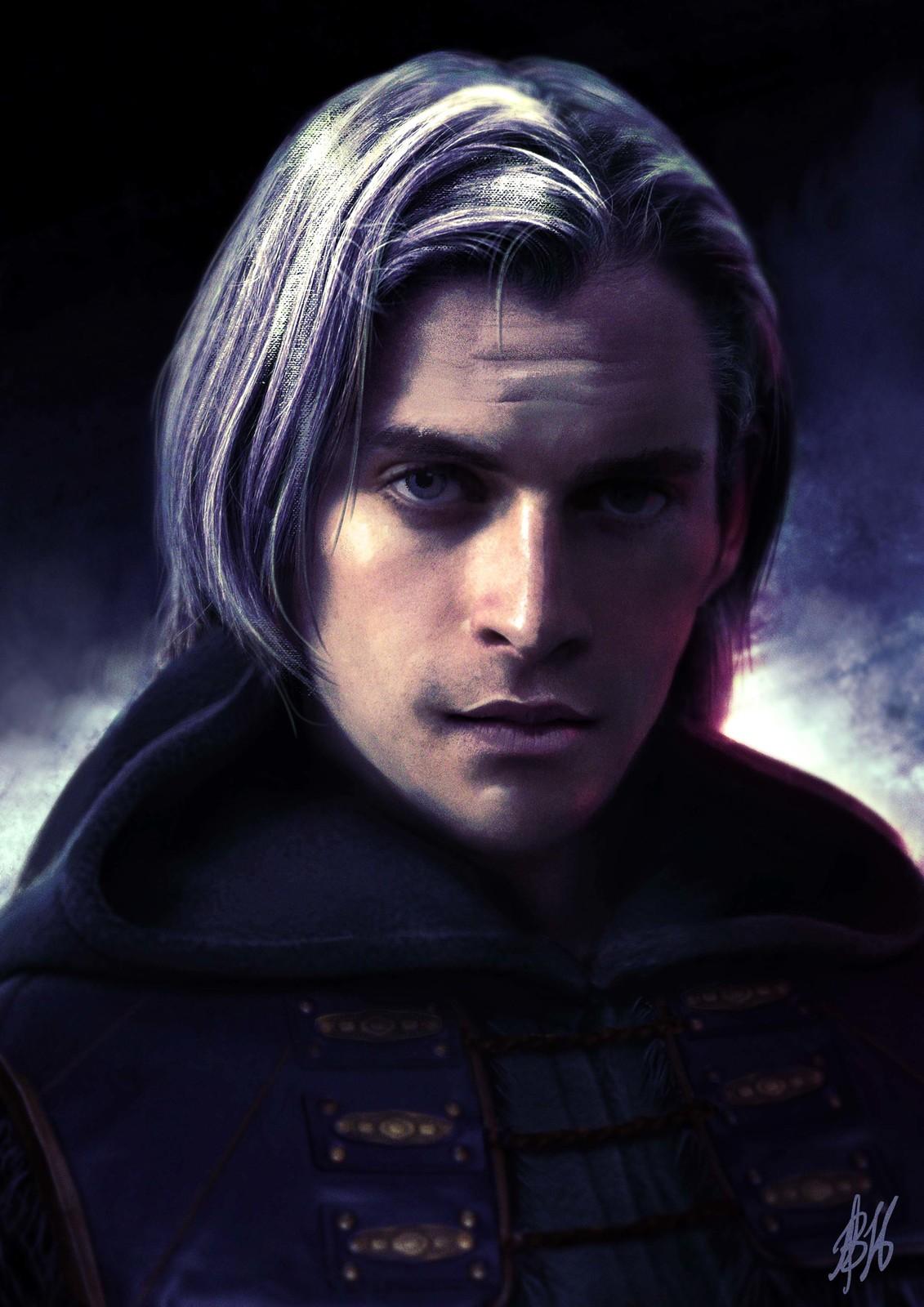 Isaak - human scholar mage