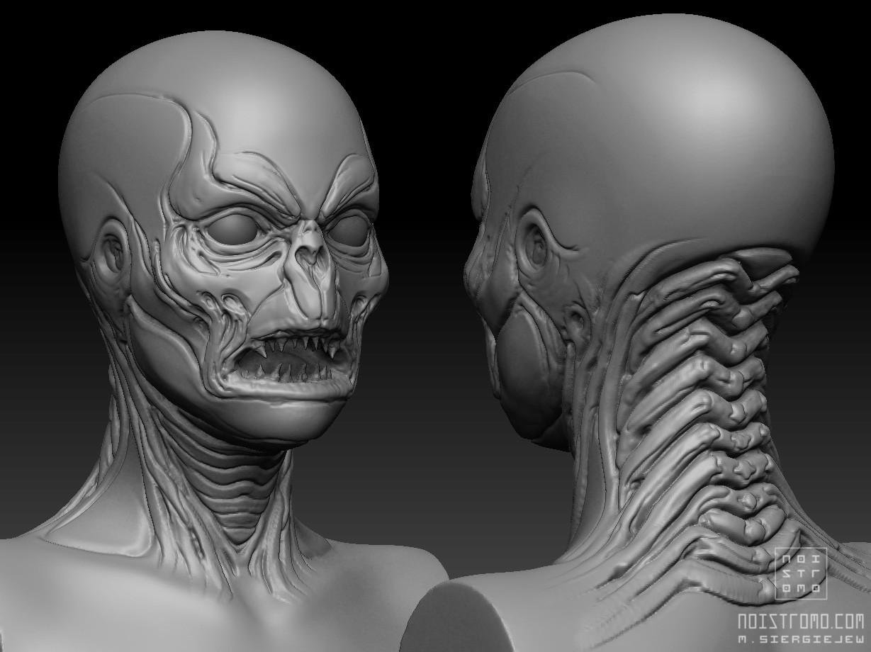 Marius siergiejew zombie mutant by noistromo wip zbshot 003