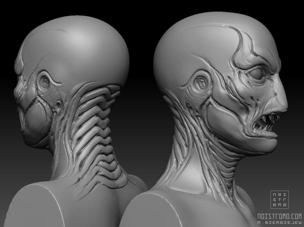 Marius siergiejew zombie mutant by noistromo wip zbshot 004
