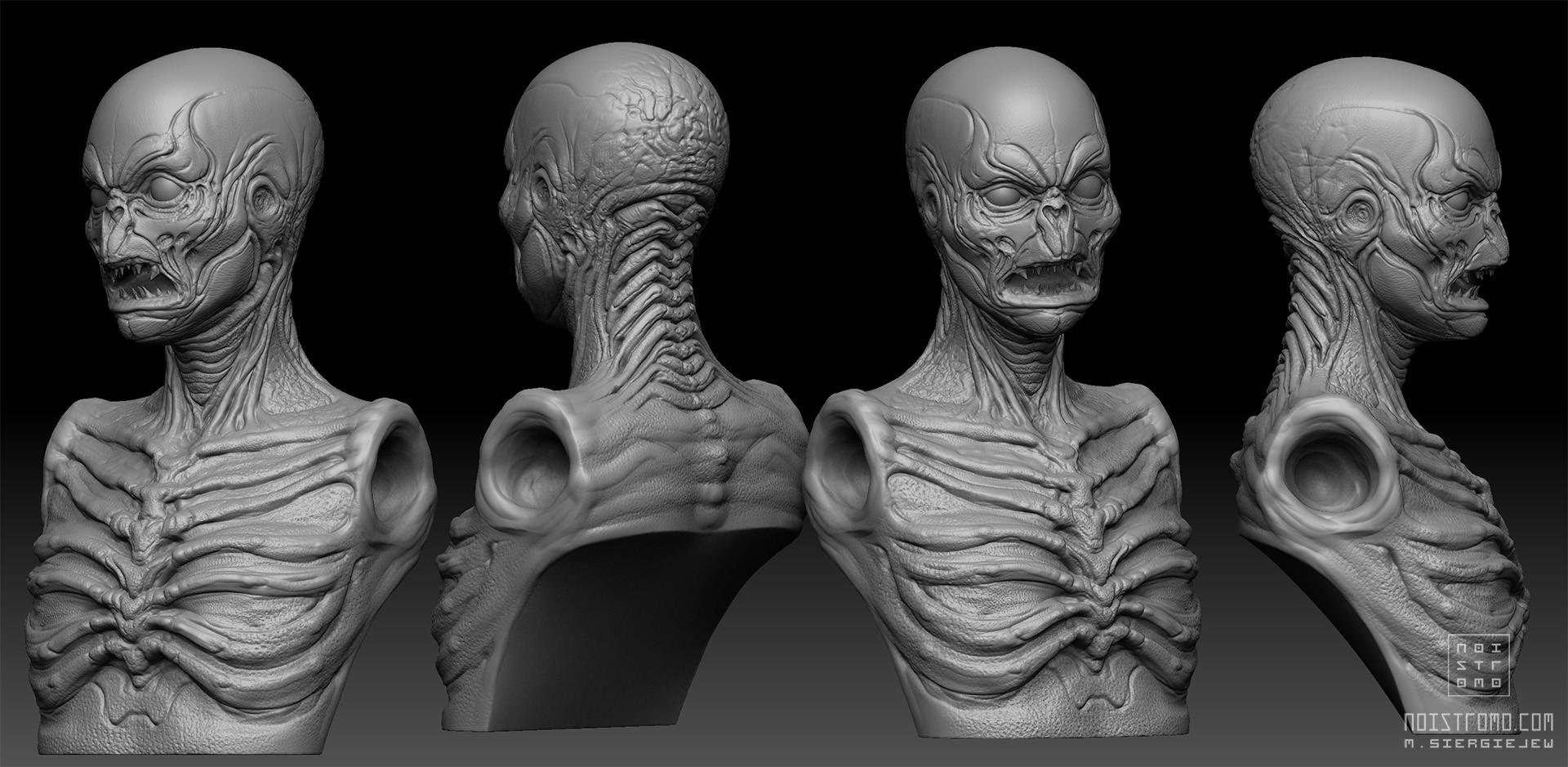 Marius siergiejew zombie mutant by noistromo wip zbshot 002