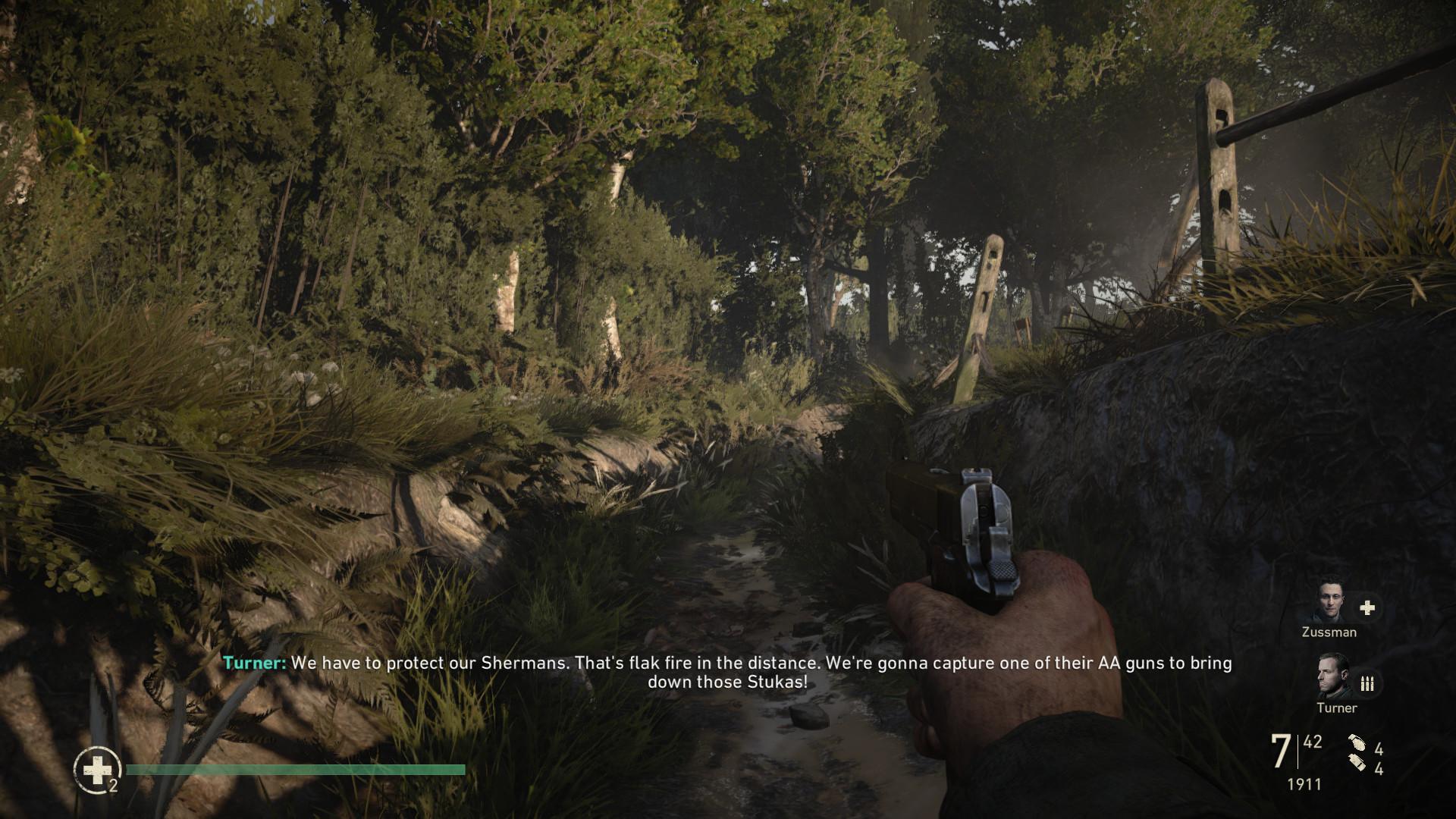 Mathias Öberg - Call of Duty WW2 Foliage and Architecture