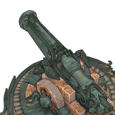 Markus lenz player ship cannon