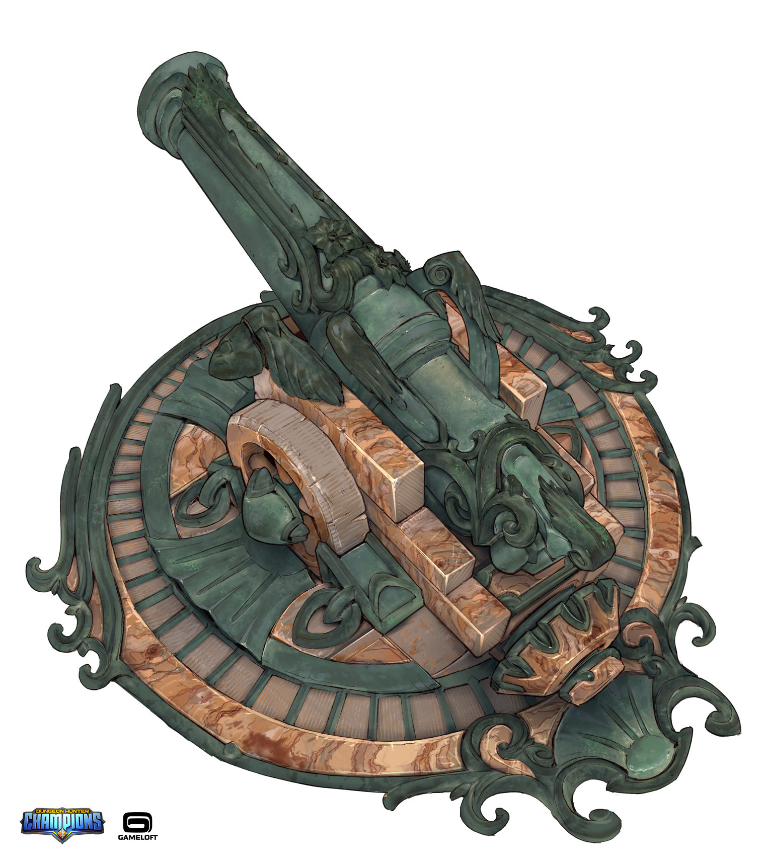 Markus lenz player ship cannon