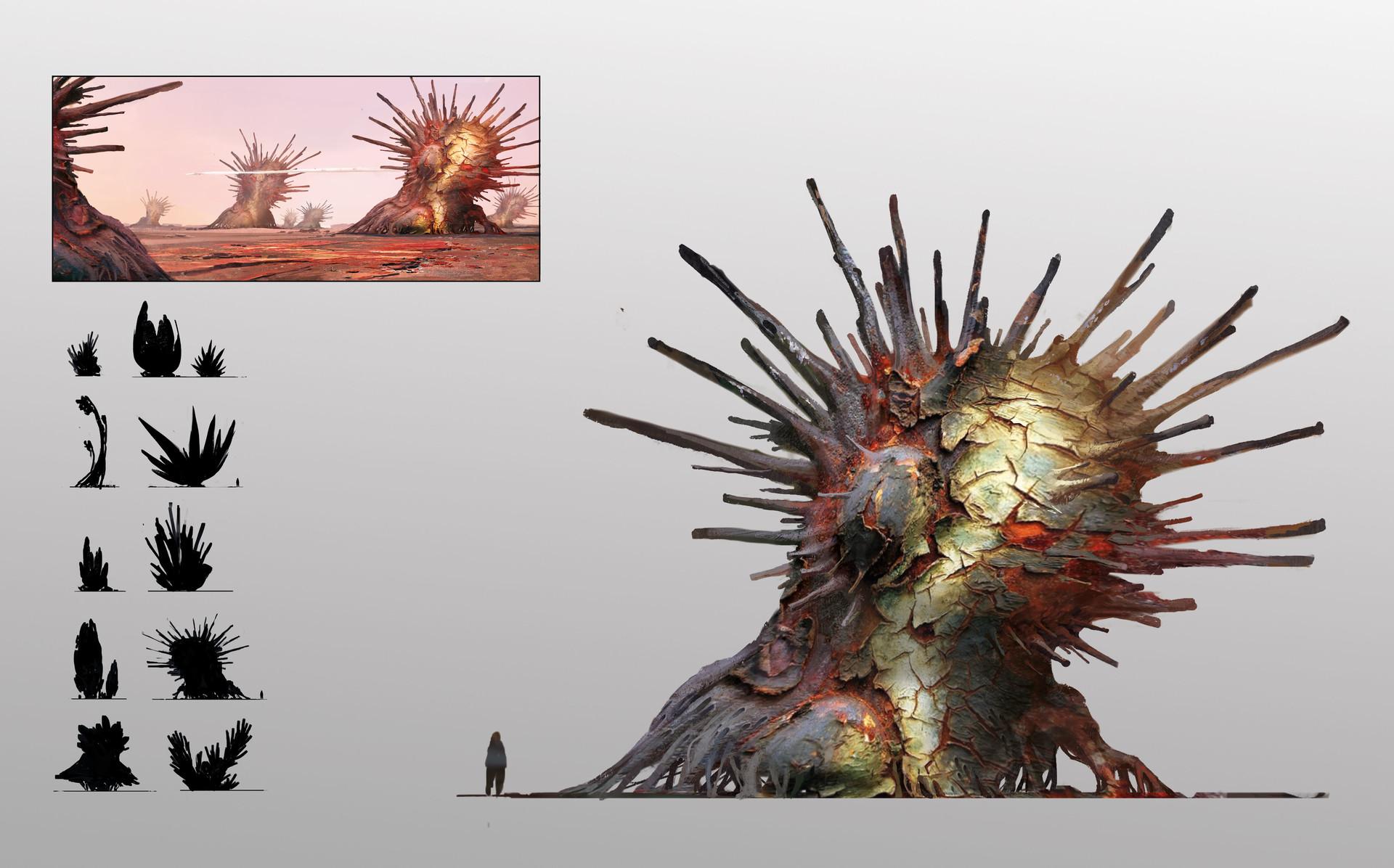 [Reflexion] Les oeuvres qui vous inspirent Alexander-ostrowski-alien-plants-sheet-14