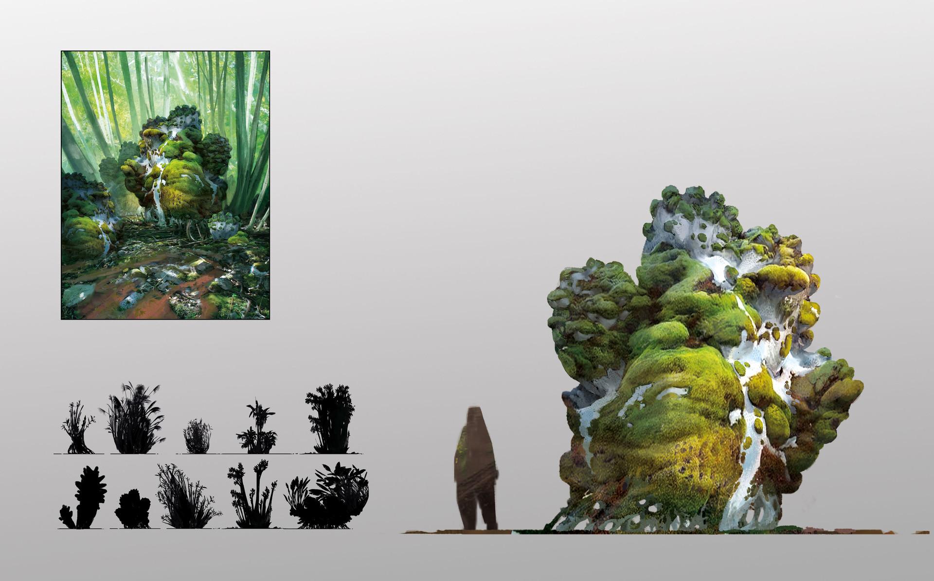 [Reflexion] Les oeuvres qui vous inspirent Alexander-ostrowski-alien-plants-sheet-15