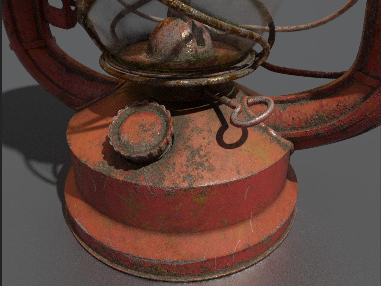 Lamp - FirstSteps on substance Painter #1