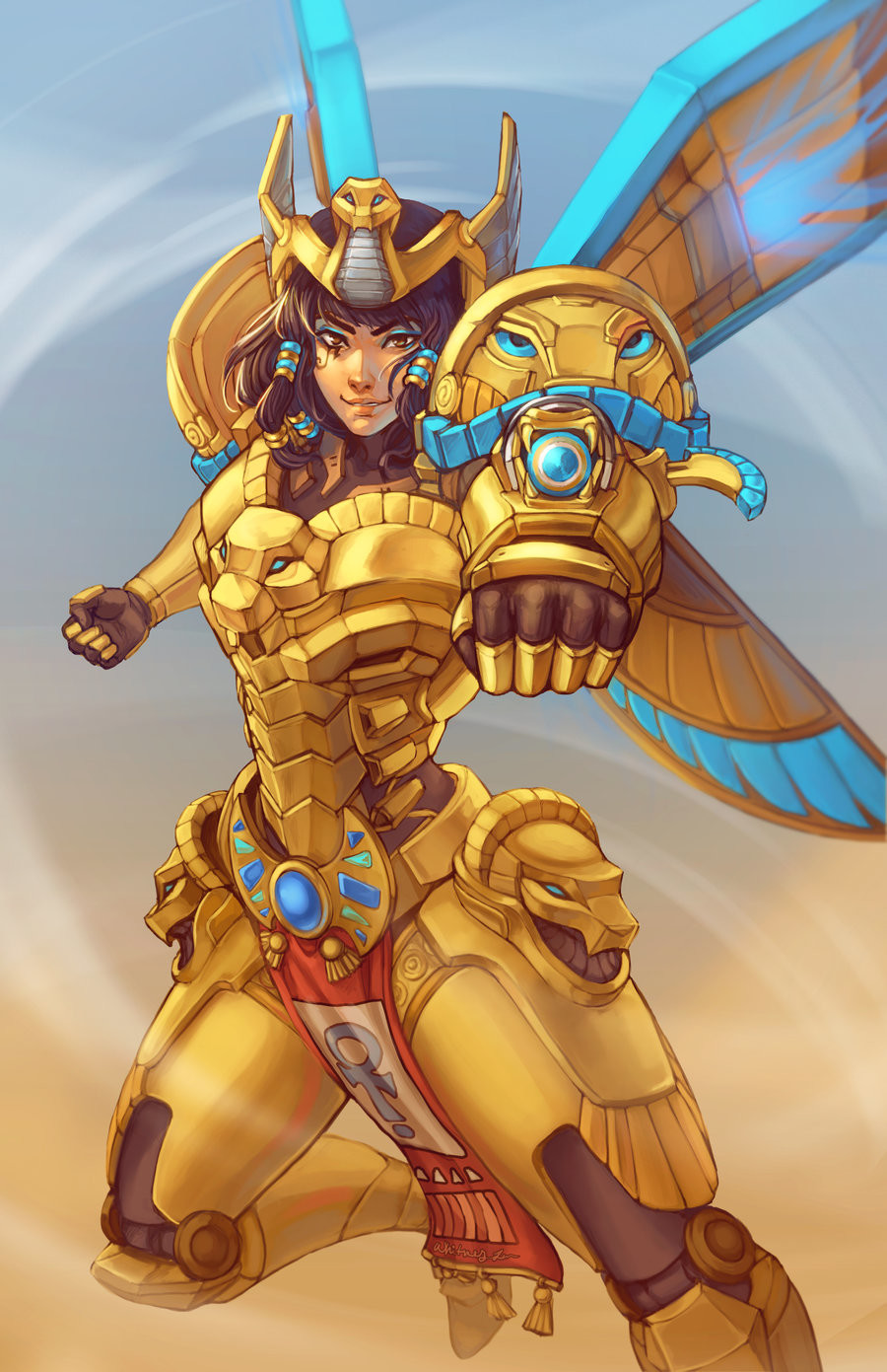Whitney lanier pharah by dreamerwhit dcbk9ku