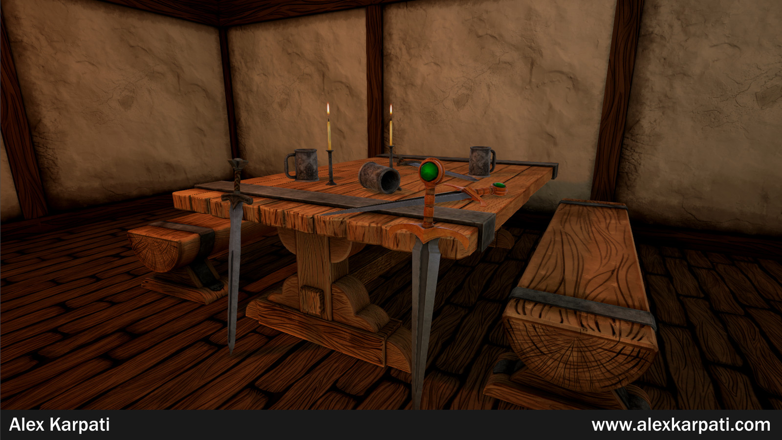Tavern Environment Vignette