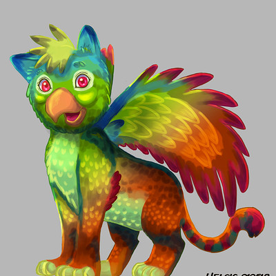 Helsic yiverus south american griffin by helsic dcac6tz