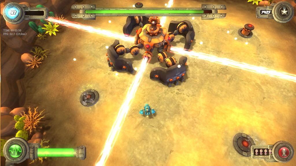 Ravegan games blue rider screenshot 13 small