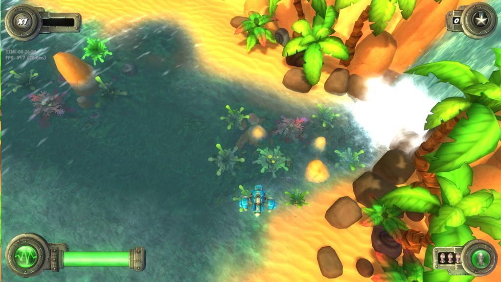Ravegan games blue rider screenshot 18 small