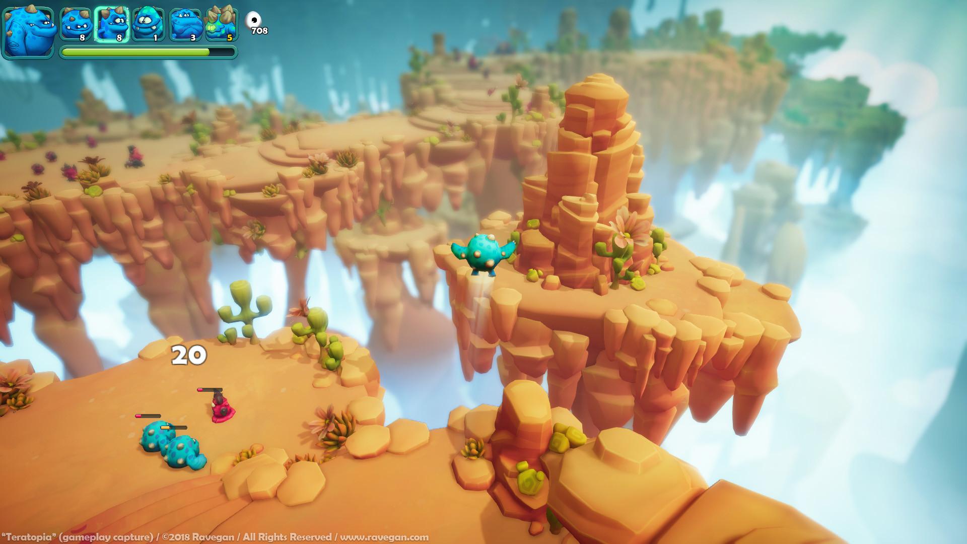 Ravegan games teratopia screenshot 001