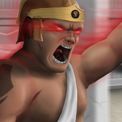 Owen neighbour gladiator blur