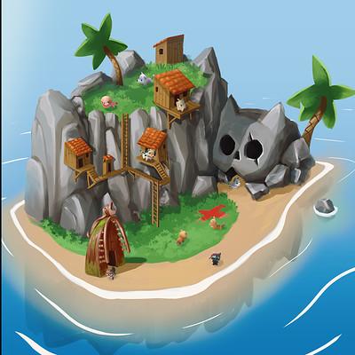 Pet Paradise Island Concept Art