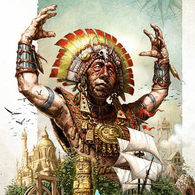 Tomek larek shaman island tomek larek