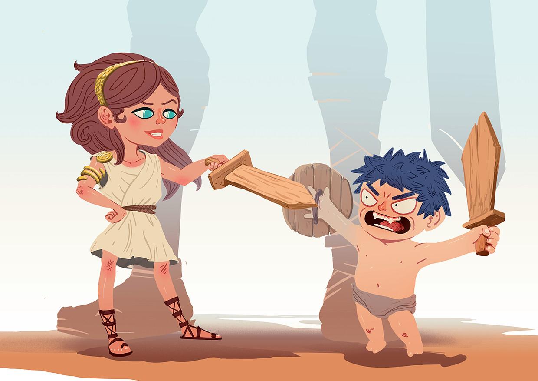 Jean philippe hugonnet kid gladiator3