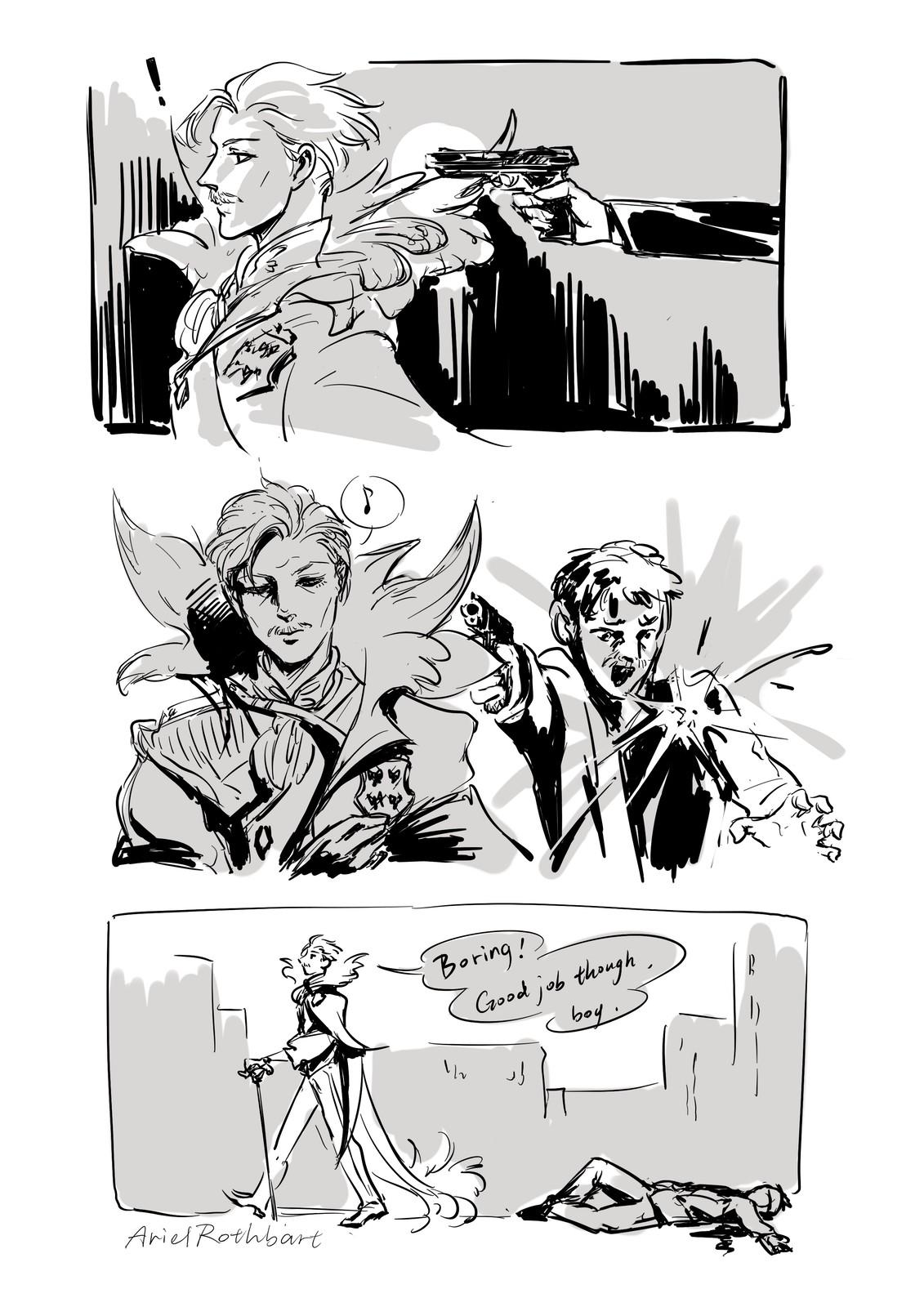 Little comic (1/2)